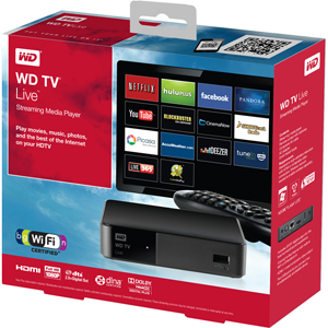 WD TV Live Package
