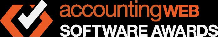 Tick logo: AccountingWeb Software Awards
