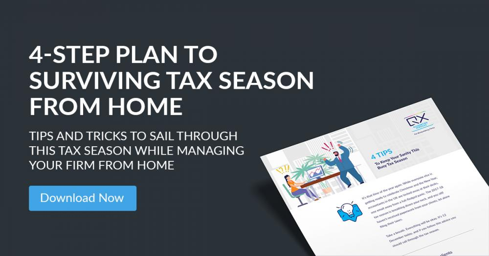 4-Step Plan to Surviving Tax Season from Home