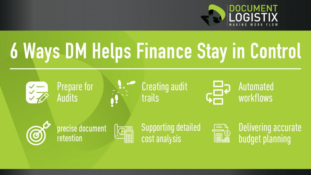 6 ways document management helps finance teams stay in control