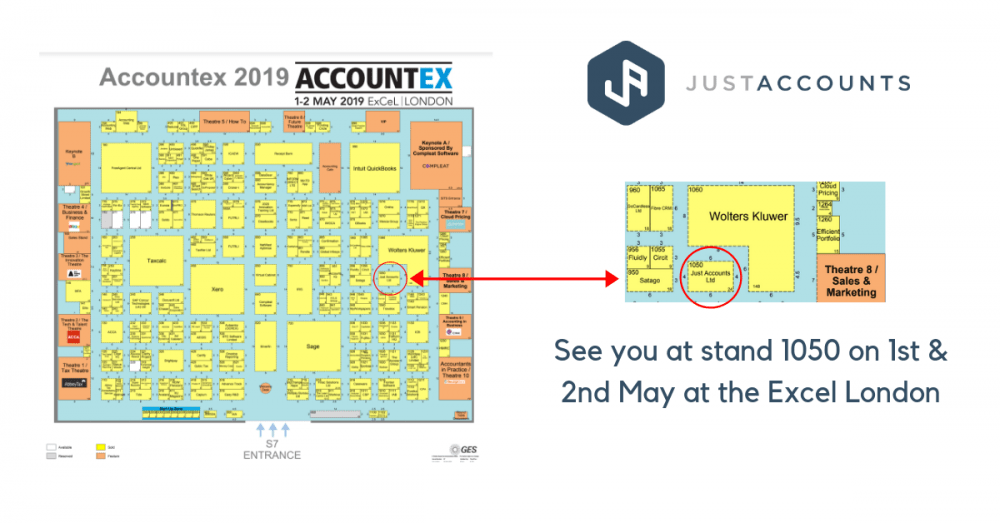 Accountex map