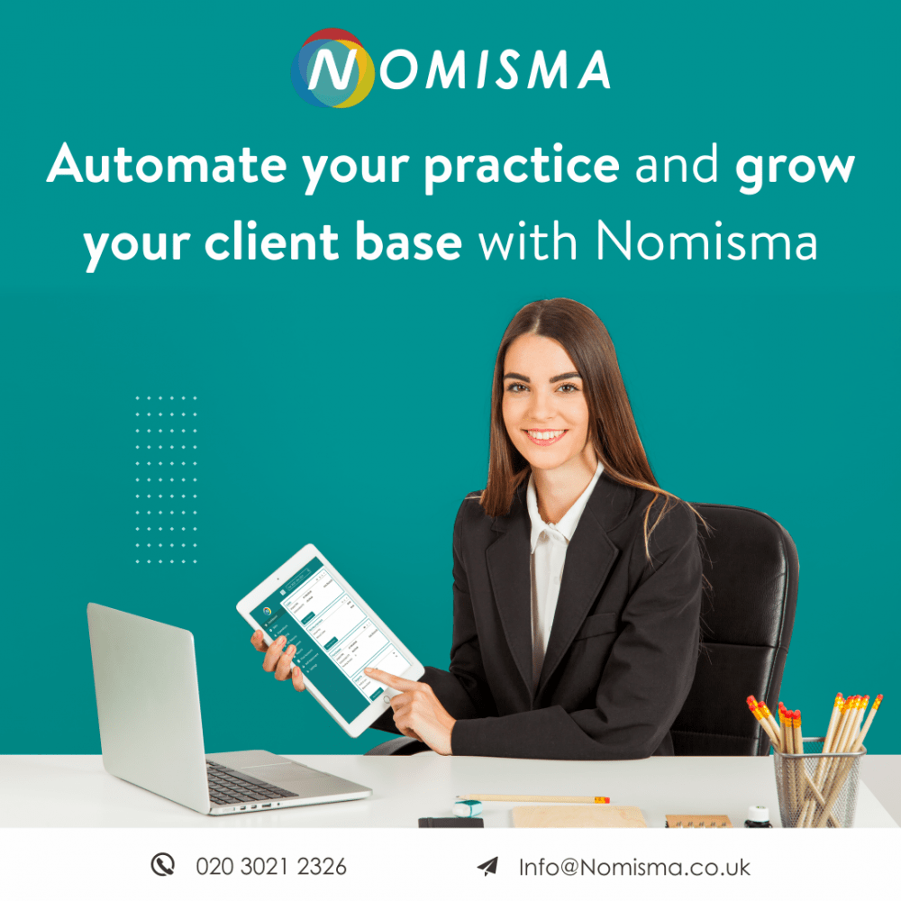 Automate your practice and grow your client base with Nomisma