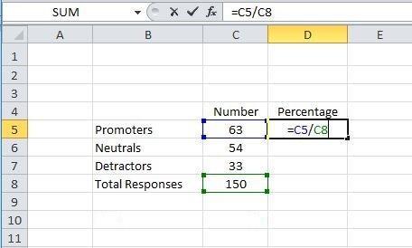 calculate percentage
