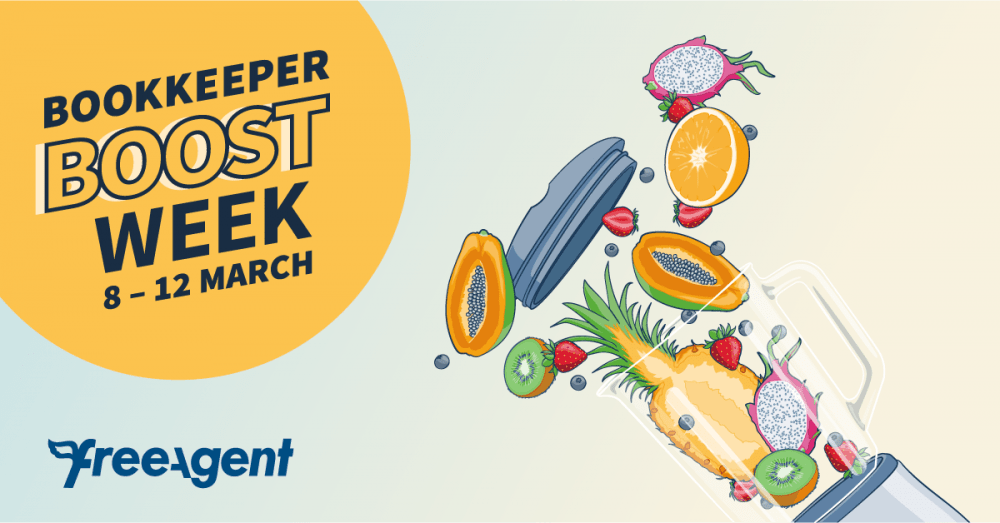 Re-energise your practice at Bookkeeper Boost Week: five days of free webinars and workshops for bookkeepers
