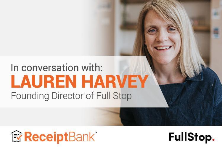 Receipt Bank Lauren Harvey