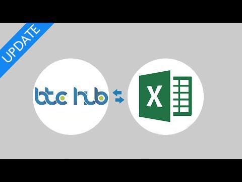 BTCHub Excel Update