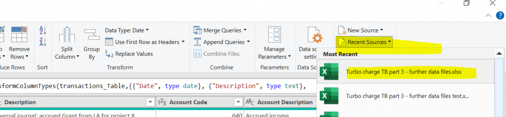 Figure 1: Generating a new query from a recent source