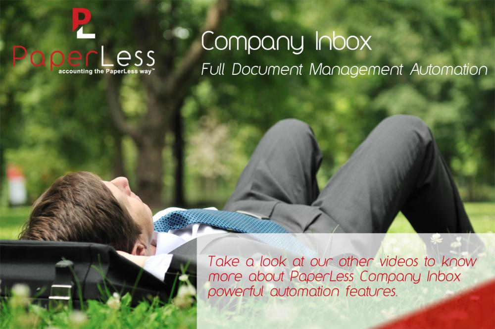 Full Document Management Automation for Sage Users with PaperLess Document Management Software.
