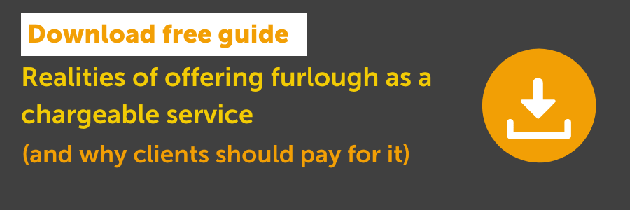 Furlough as a chargeable service? What you need to know