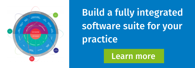 Build a fully integrated software suite for your practice
