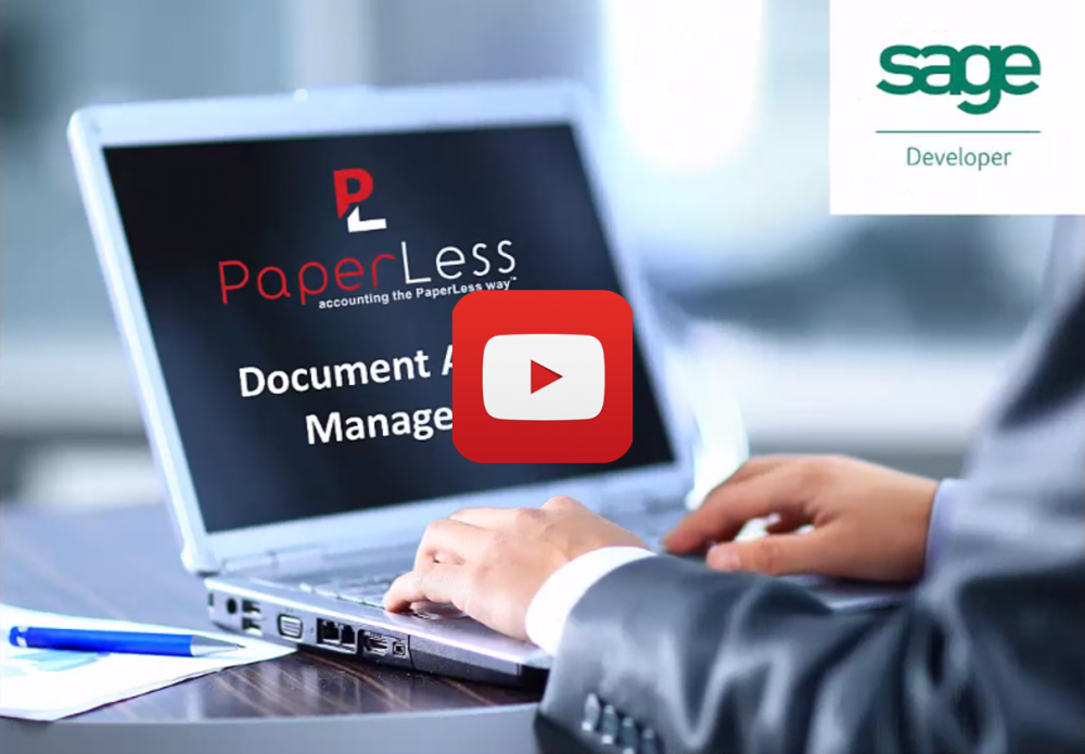 PaperLess Document Approval Software. Online Invoice Approval for Sage