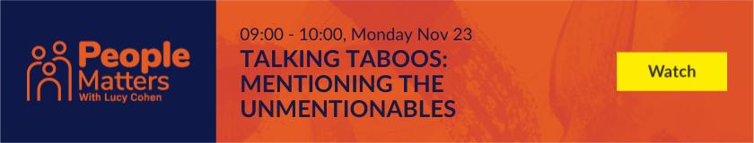 Talking Taboos