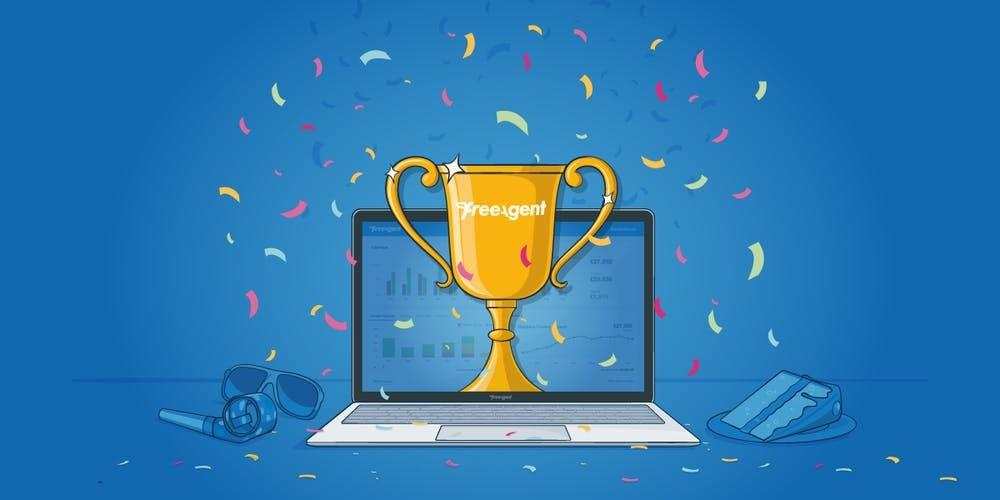 FreeAgent named Friendliest Software of the Year