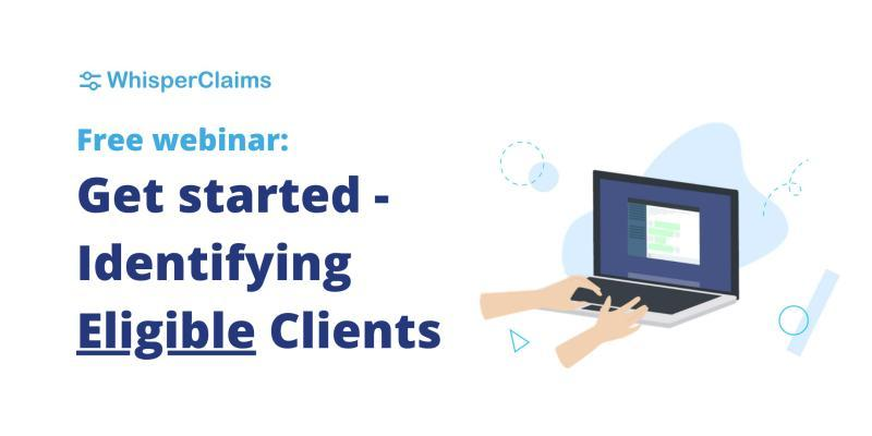 webinar from whisperclaims on eligible clients for R&D tax relief