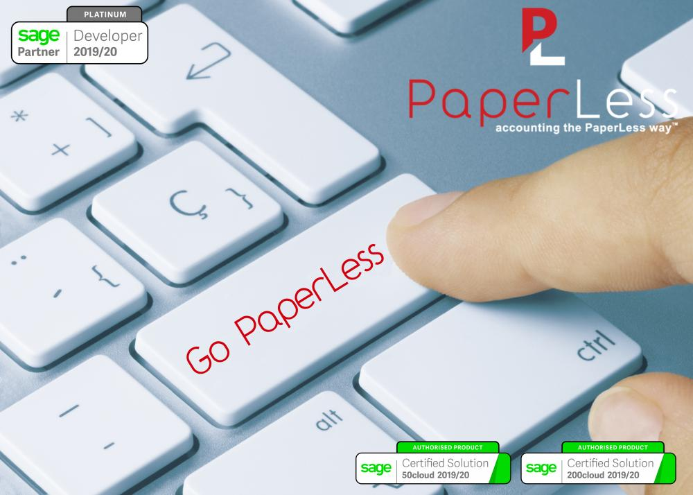 Get your PaperLess Office for Sage with PaperLess Document Management Software. Full compatibility with HMRC guidelines on how to keep your digital records.