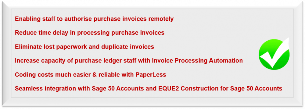 GPF Lewis Case Study - Document Management for Sage integrated with Construct Module of Eque2 offering construction companies access to OCR, Document Approval and Remote Access.