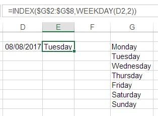 Weekday 3