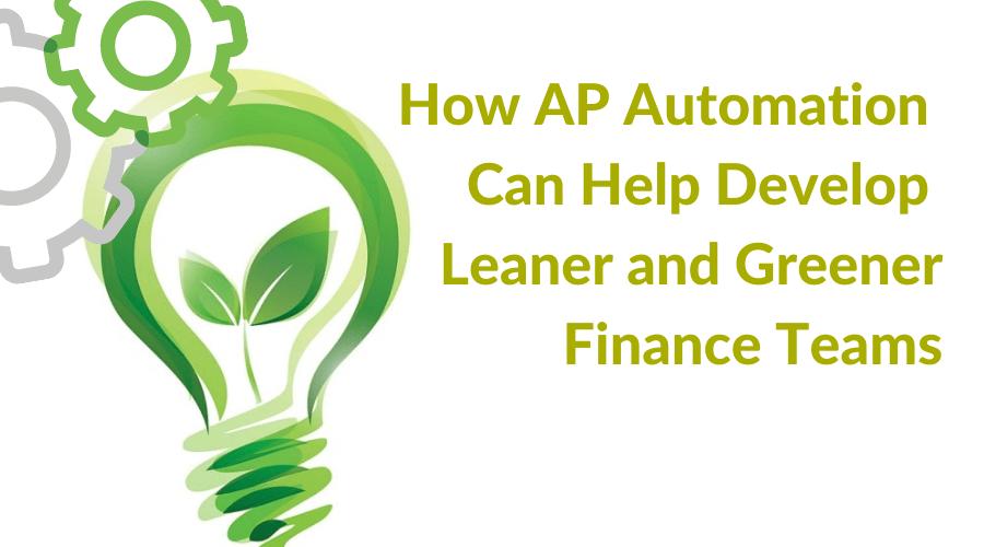 Leaner and Greener Finance Teams