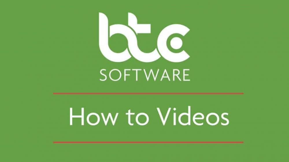 BTCSoftware's How To Videos
