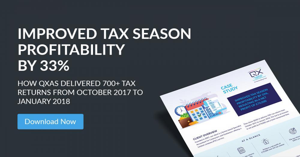 Success Story : Improved Tax Season Profitability by 33%
