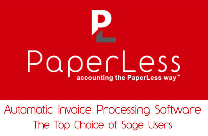 Sage In-Product advertising now introducing PaperLess Document Management software. The preferred choice of Sage users to automate document management processes and invoice processing routines across accounts departments. f