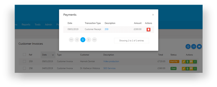 Invoice Payments 2