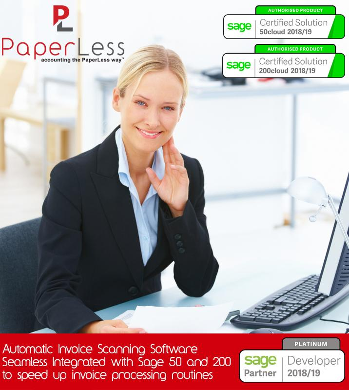 PaperLess Invoice Scanning Software with built-in OCR Software for automatic data capture is the preferred solution of CFOs and Finance Professionals to automate invoice management and processing routines.