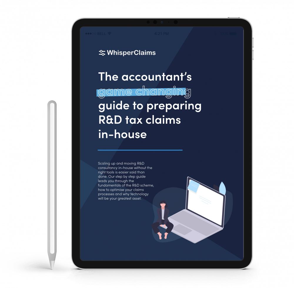 Download the WhisperClaims ebook to preparing R&D claims inhouse