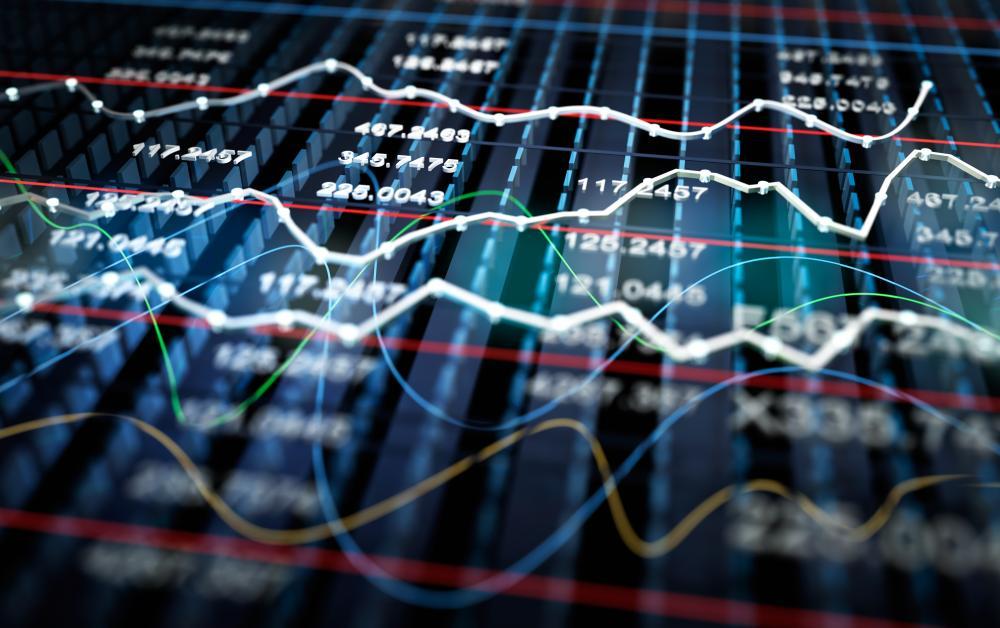 Financial figures ticking along
