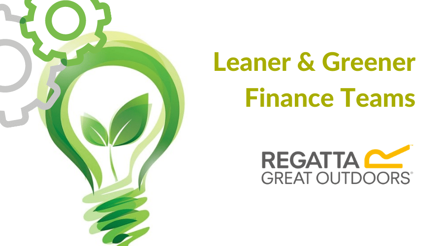 Leaner and Greener Finance Teams with Regatta slick and efficient AP invoice automation