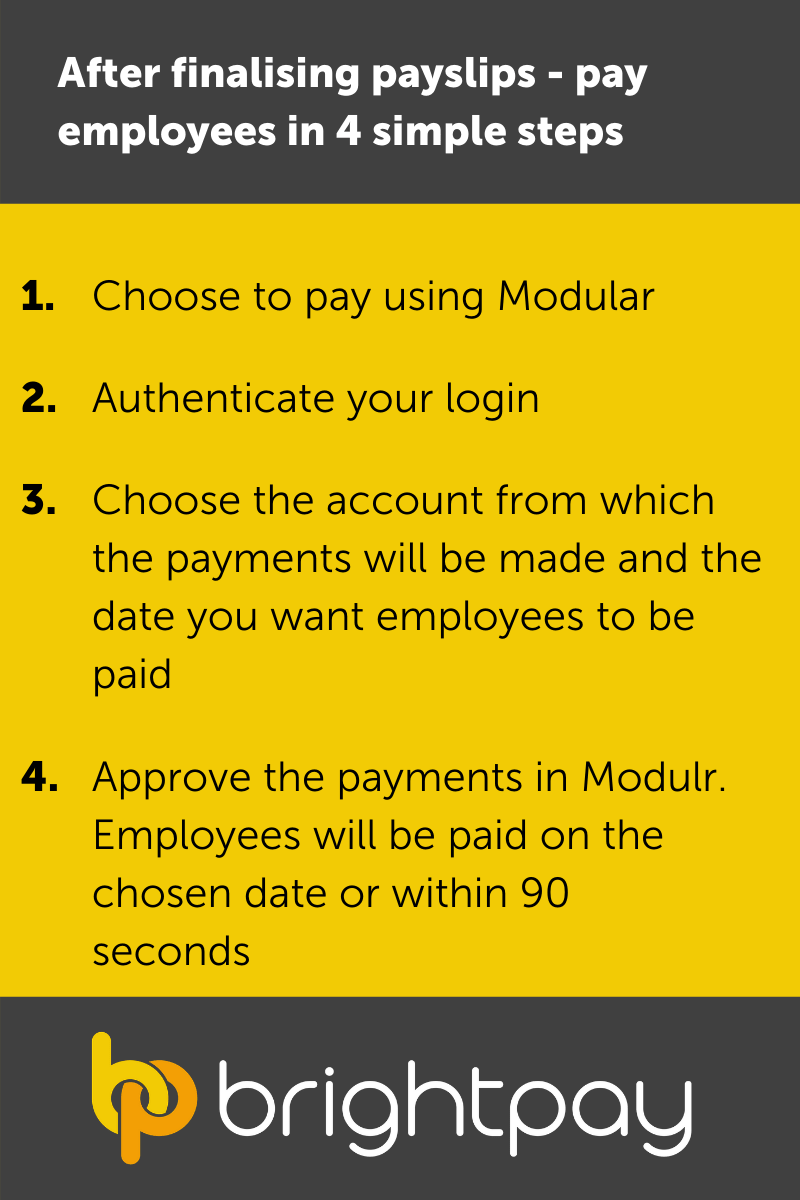 Four simple steps to paying employees