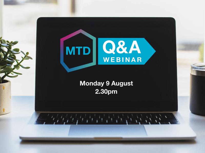 MTD Q&A Webinar
