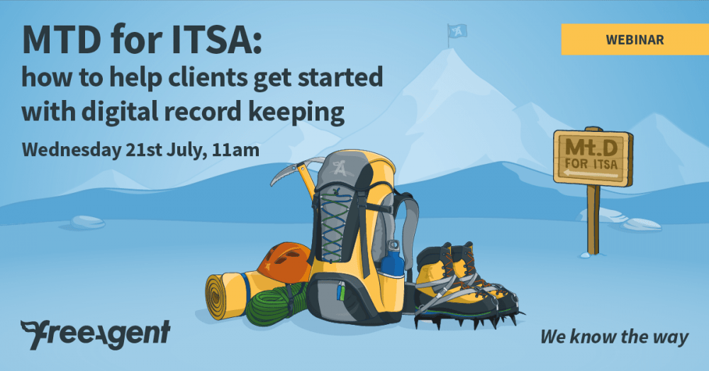 [Webinar] MTD for ITSA: how to help clients get started with digital record keeping
