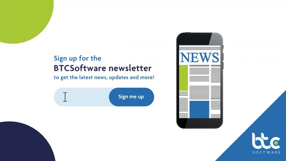 BTCSoftware Newsletter sign up