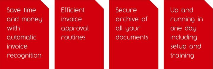 The best routines to automate your document management and invoice approval processes.