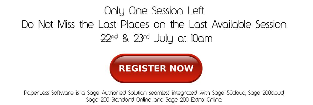 Click here to book your free place on Sage Automation Free Webinar