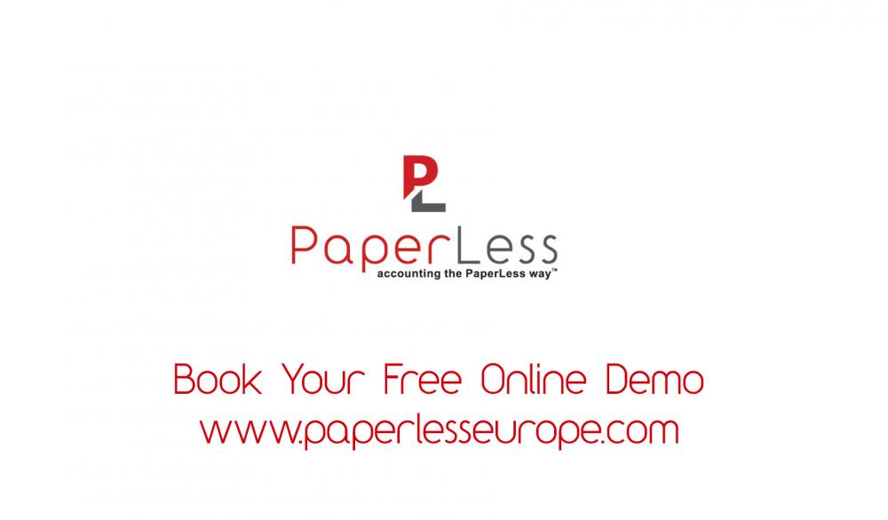 PaperLess Document Management Software for Sage Free Online Demo.