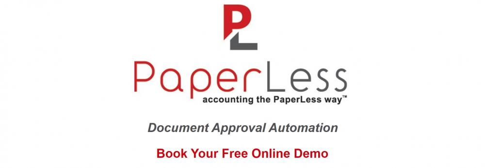 PaperLess Document Management with built-in Online Invoice Approval for Sage.