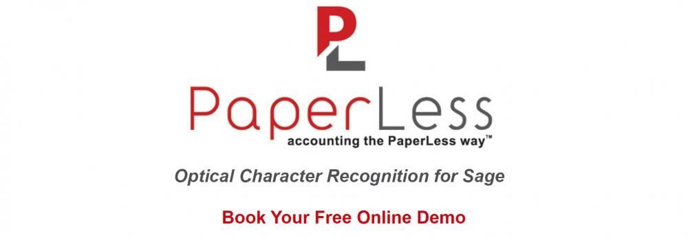 PaperLess Document Management for Sage with built-in OCR software to speed-up invoice processing