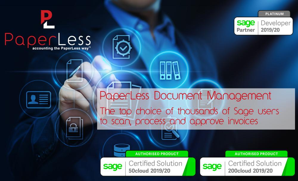 Automatically Manage invoices with PaperLess Document Management Software. The best software to automate invoice management processes.