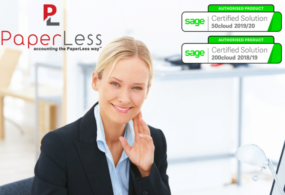 Sage Document Management Software with Invoice Archiving feature so that all invoices can be automatically archived and linked to Sage.