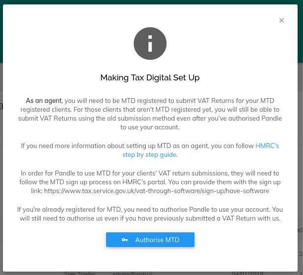 MTD Message