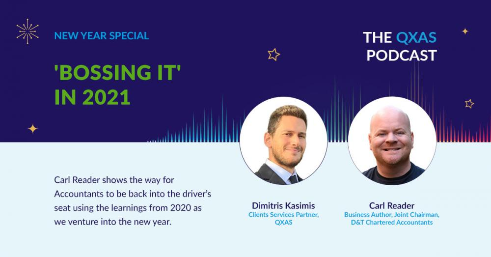 """QXAS Podcast - Carl Reader on """"Bossing it"""" in 2021"""