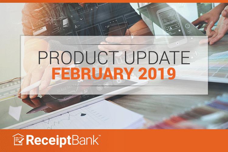Receipt Bank February update