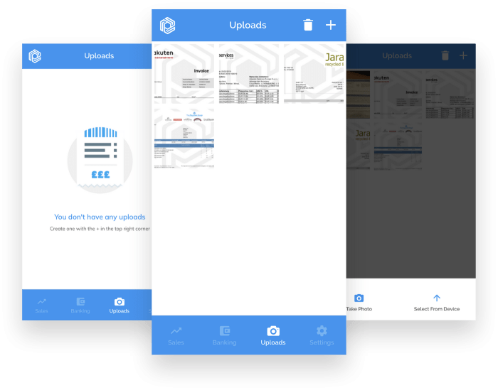 Receipt Uploads Feature Added to Pandle Mobile