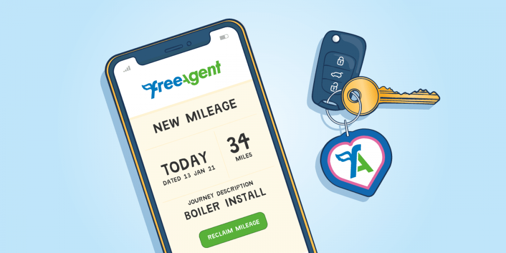 FreeAgent Reducing Client Churn illustration