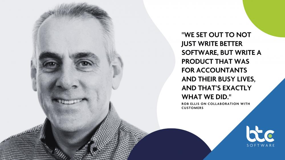 Rob Ellis on collaboration with customers BTCSoftware
