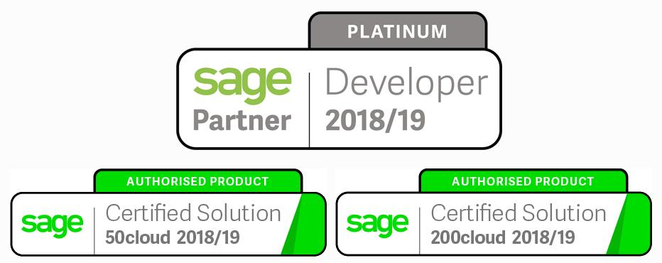 Document Management software Sage certified is allowing sage users to have invoices directly attached to Sage transactions.