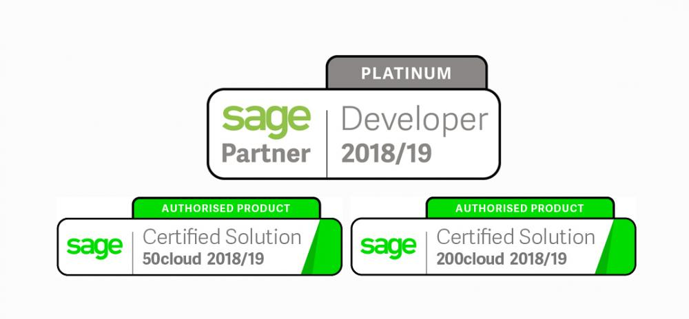 Sage Platinum Partners offers Full Invoice Processing Automation for Sage 50cloud, Sage 200cloud, Sage 200 Standard Online and Sage 200 Extra Online.