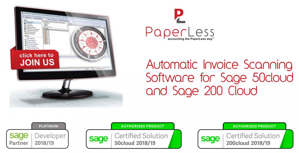 Sage Automatic Invoice Scanning Addon is the best way to automate invoice scanning processing with your Sage accounting software.